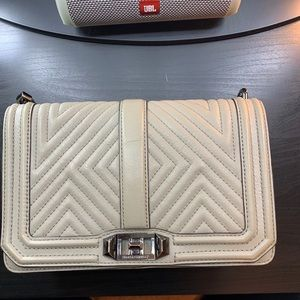 Rebecca Minkoff quilted chain crossbody